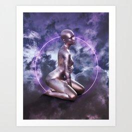 Queen in the Clouds Art Print