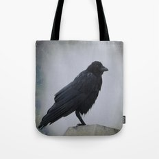 Wet Crow Tote Bag