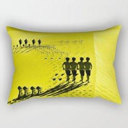 yellow sandune Rectangular Pillow