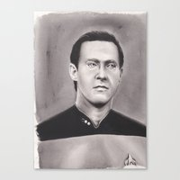 data Canvas Prints featuring data by dollface87