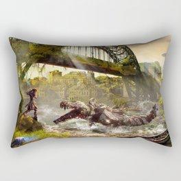 Newcastle [Horizon Zero Dawn] Rectangular Pillow