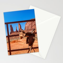 Saddle up in Wild West Stationery Cards