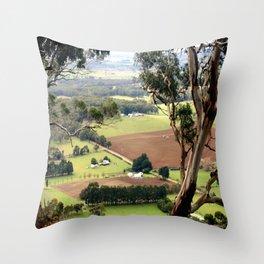 Mount Buninyong  Throw Pillow
