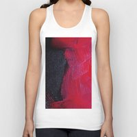 oil Tank Tops featuring Red oil by Margheritta
