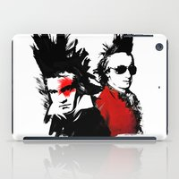 mozart iPad Cases featuring Beethoven Mozart Punk Composers by viva la revolucion