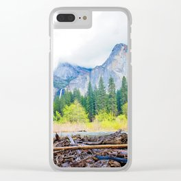 Yosemite Mood Clear iPhone Case