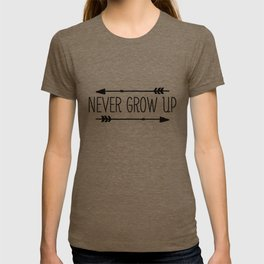 Never Grow Up T-shirt