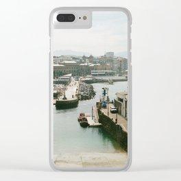 San Sebastian - Donostia-San, Spain Clear iPhone Case