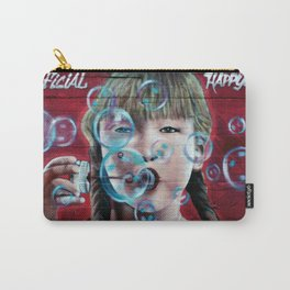 """""""Artificial Happyness"""" Carry-All Pouch"""