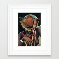 dna Framed Art Prints featuring DNA by Hugo Barros