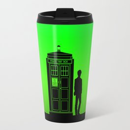 Tardis With The Eleventh Doctor Travel Mug