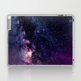 The Milky Way Midnight Blue & Purple Laptop & iPad Skin