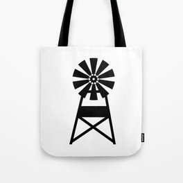 Farmhouse Windmill Tote Bag