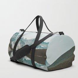 Moraine Lake Mountain Reflection Summer Duffle Bag