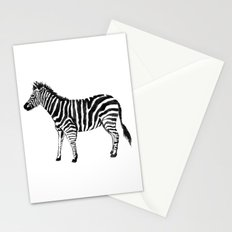Zebra Illustration (Watercolor) Stationery Cards