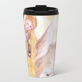 Playing in the forest Travel Mug