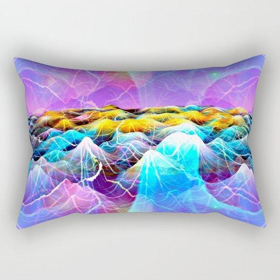 Data Sea Rectangular Pillow