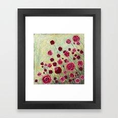Stonewashed Garden Framed Art Print