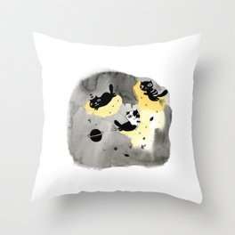 My planet Throw Pillow