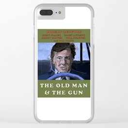 The Old Man & The Gun Clear iPhone Case