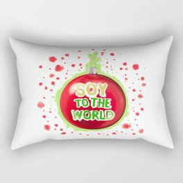 Soy to the World Rectangular Pillow
