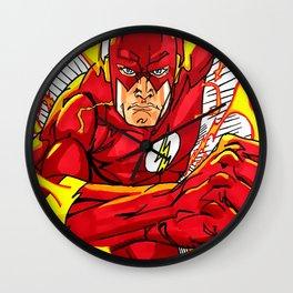 The flash fan art Wall Clock
