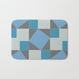 Pythagorean Pattern Bath Mat
