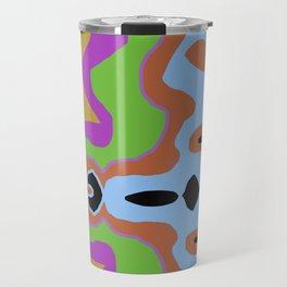 Abstract Circus Travel Mug