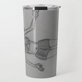 A female physique Travel Mug