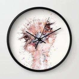 Who Me? (Emu) Wall Clock