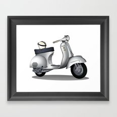 My faith, my voice, vespa my choice ! Framed Art Print