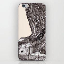 house glitchzzchyhx iPhone Skin