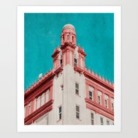 building Art Prints featuring Building by Sweet Moments Captured