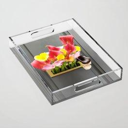 Tulip Acrylic Tray