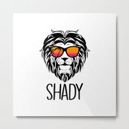 King Shady Metal Print