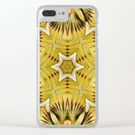 kaleidoscope,flower Clear iPhone Case