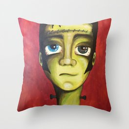 Young Frankenstein Throw Pillow
