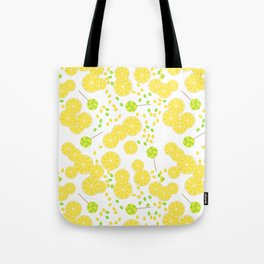 Candy sweets of lemon lollypops Tote Bag