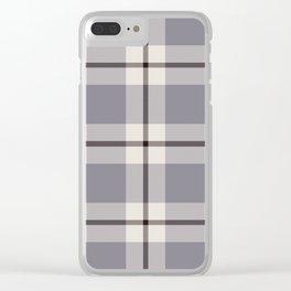 big light weave monochrome Clear iPhone Case