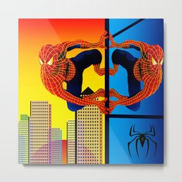 OTHERWORLD SPIDEY Metal Print