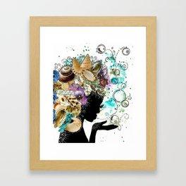 Sea Child Framed Art Print