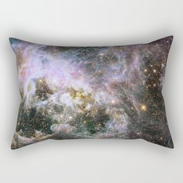Cosmic Tarantula Nebula (infrared view) Rectangular Pillow