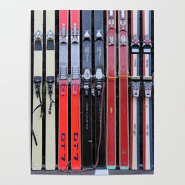 Skis with Bindings Poster