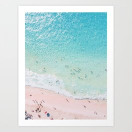 Beach Sunday Kunstdrucke