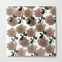 Covering you with roses Metal Print