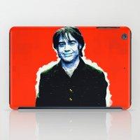 brad pitt iPad Cases featuring Brad Roberts by Alec Goss
