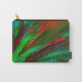 Funky Bright Flower Carry-All Pouch