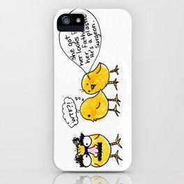 Grouchick iPhone Case