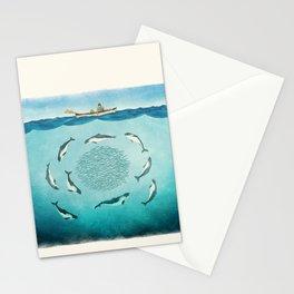 Porpoises Stationery Cards