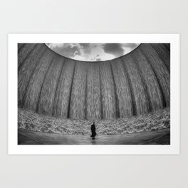Wall O' Water Art Print